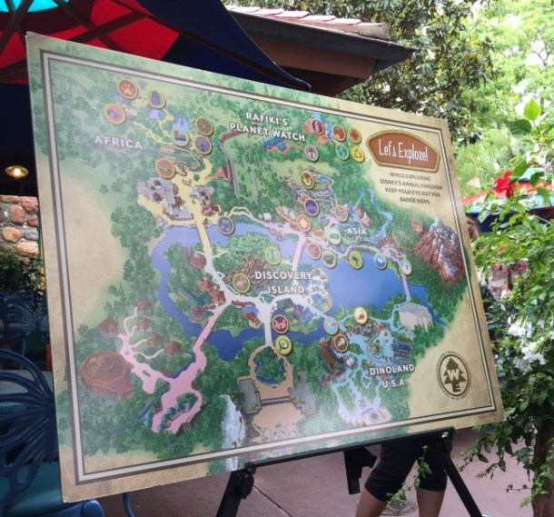 Wilderness Explorers Map