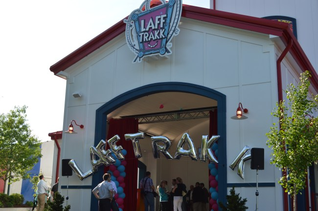 Hersheypark's 13th Coaster Laff Trakk Preview