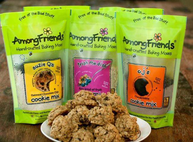 Among Friends Handcrafted Baking Mixes - Photo Credit Among Friends