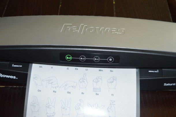 Fellowes Laminator (9)