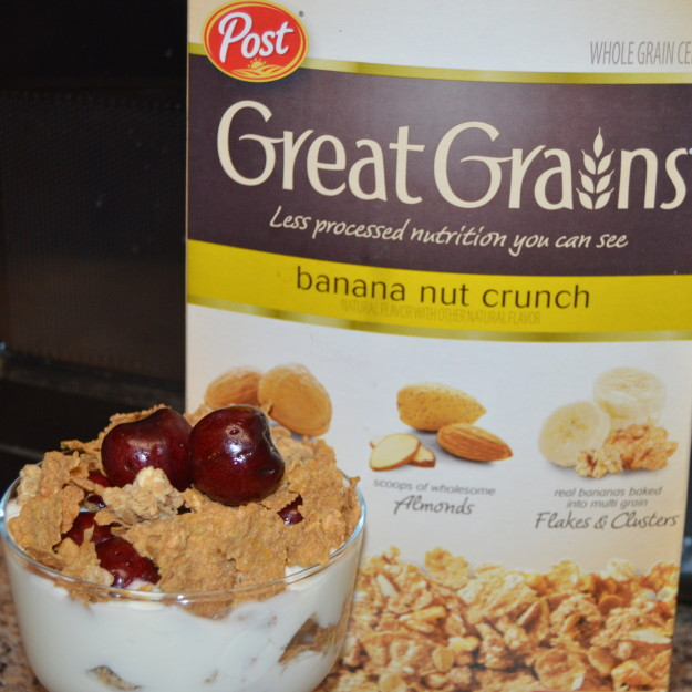 Great Grains Cherry Crunch Parfait