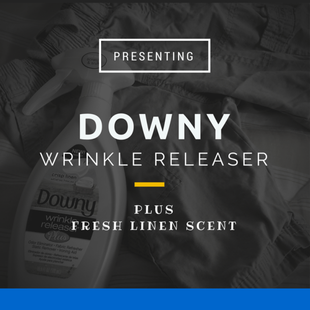 Downy Wrinkle Releaser Crisp Linen Scent Review