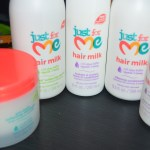 Maintaining My Daughter's Natural Hair with Just For Me Products