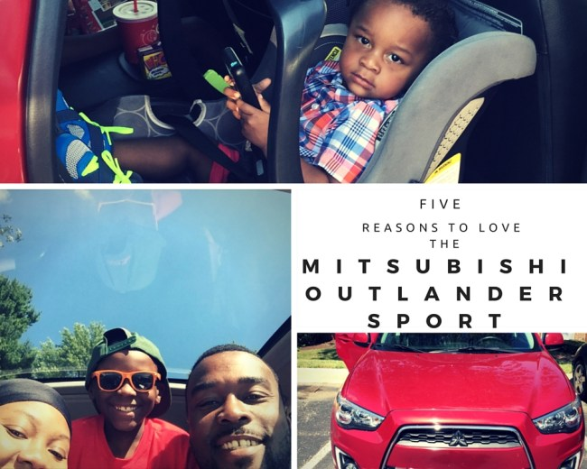 Five Reasons to Love the Mitsubishi Outlander Sport #DriveMitsubishi @MitsuCars