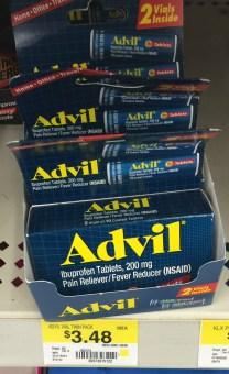 Advil Tablet Vials