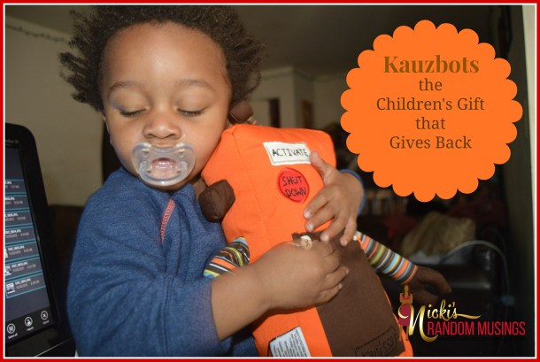 Kauzbots – The Children's Gift that Gives Back #GivingTuesday