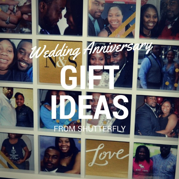 Anniversary Gift Ideas from Shutterfly