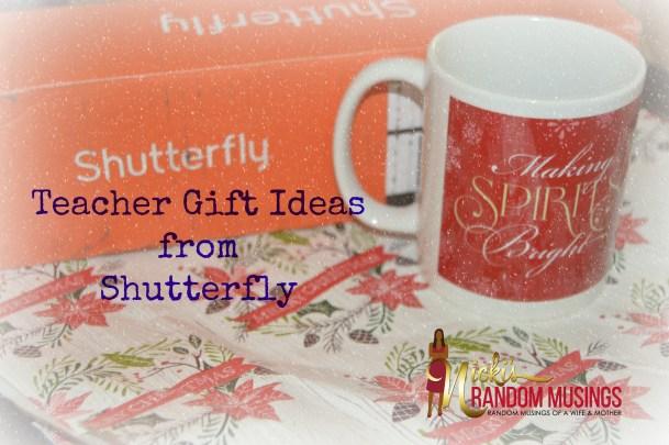 Teacher Gift Ideas from Shutterfly
