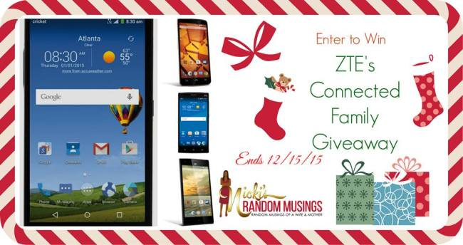 ZTE Connected Family Giveaway