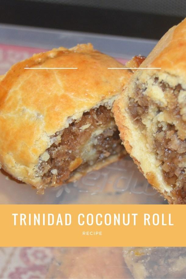 Trinidad coconut roll