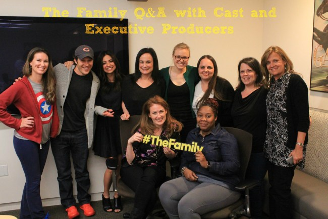 Getting Personal with the Cast of ABC's The Family #TheFamily #ABCTVEvent