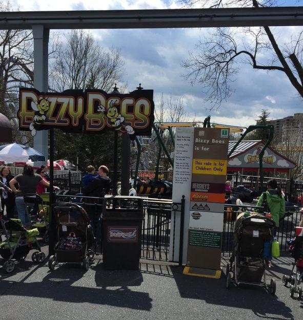 10 Hersheypark Attractions for Children