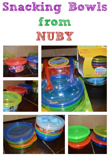 NUBY Snacking Bowls