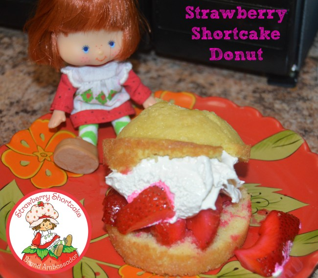 Celebrating National Strawberry Month: Strawberry Shortcake Donut