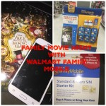 Family Movie Night with Walmart Family Mobile Plus #ad #DataAndAMovie #CBias