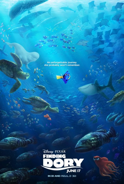 Free Finding Dory Coloring Sheets