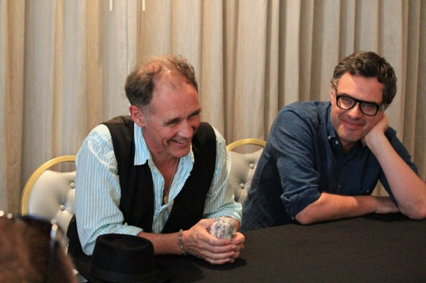 Mark Rylance (The BFG) and Jemaine Clement (Fleshlumpeater). Photo Credit Coralie S of Lovebugs and Postcards