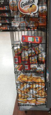 Grabbing some easy snacks