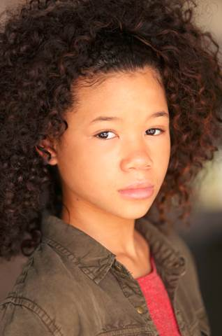 Storm Reid Cast at Meg in Disney's A Wrinkle in Time