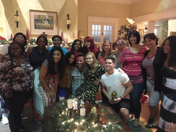 On the Set of ABC's The Real O'Neals #ABCTVEvent #TheRealONeals