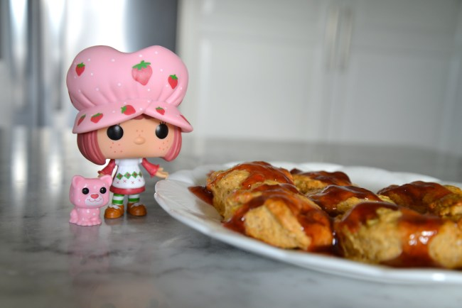 Strawberry Shortcake Apple Scones Plus Funko Giveaway