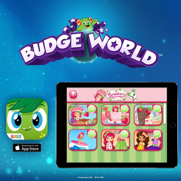 Strawberry Shortcake Teams Up with Budge Studios