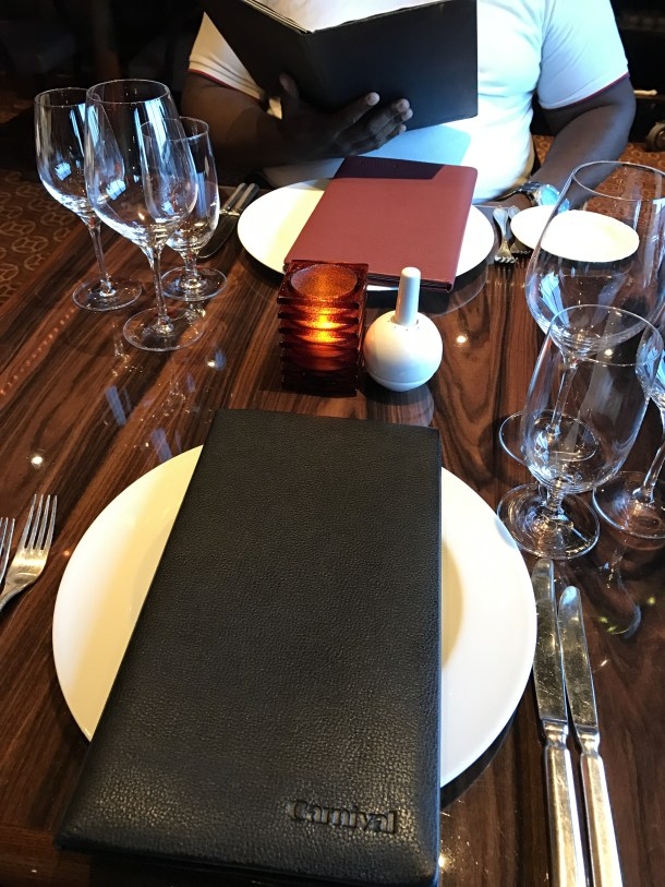 Prime Steakhouse Table Setting