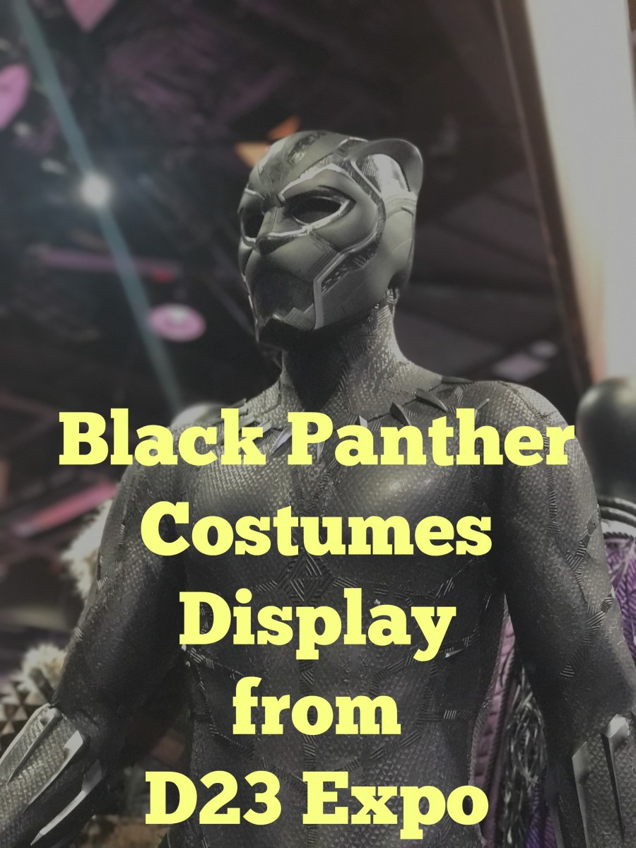 Black Panther Costume Showcase from D23 Expo