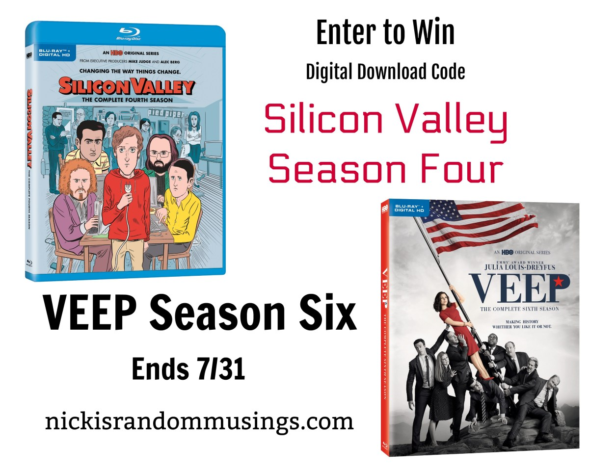 VEEP and Silicon Valley Digital Code Giveaway