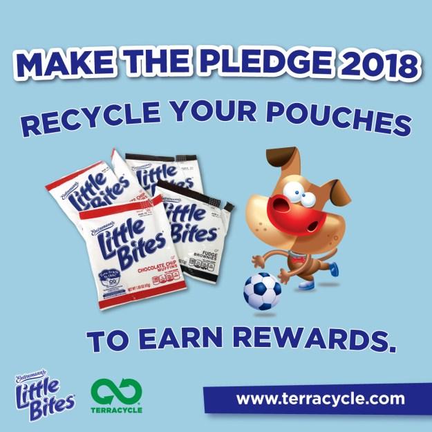 Take The Pledge With Entenmann's Little Bites and TerraCycle #LoveLittleBites #LittleBitesPledge #PledgetoRecycle