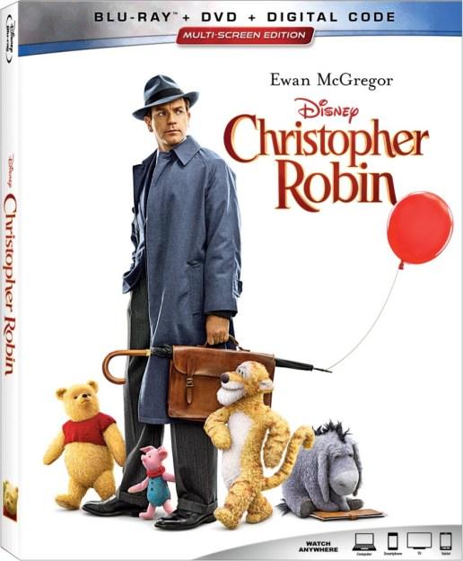 Bring Home Disney's Christoper Robin on Disney DVD November 6th