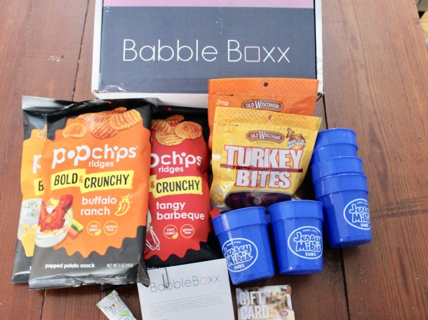 Food Football BabbleBoxx