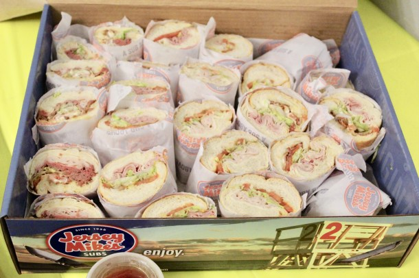 Jersey Mike's Catering Box - #FoodFootballBBoxx