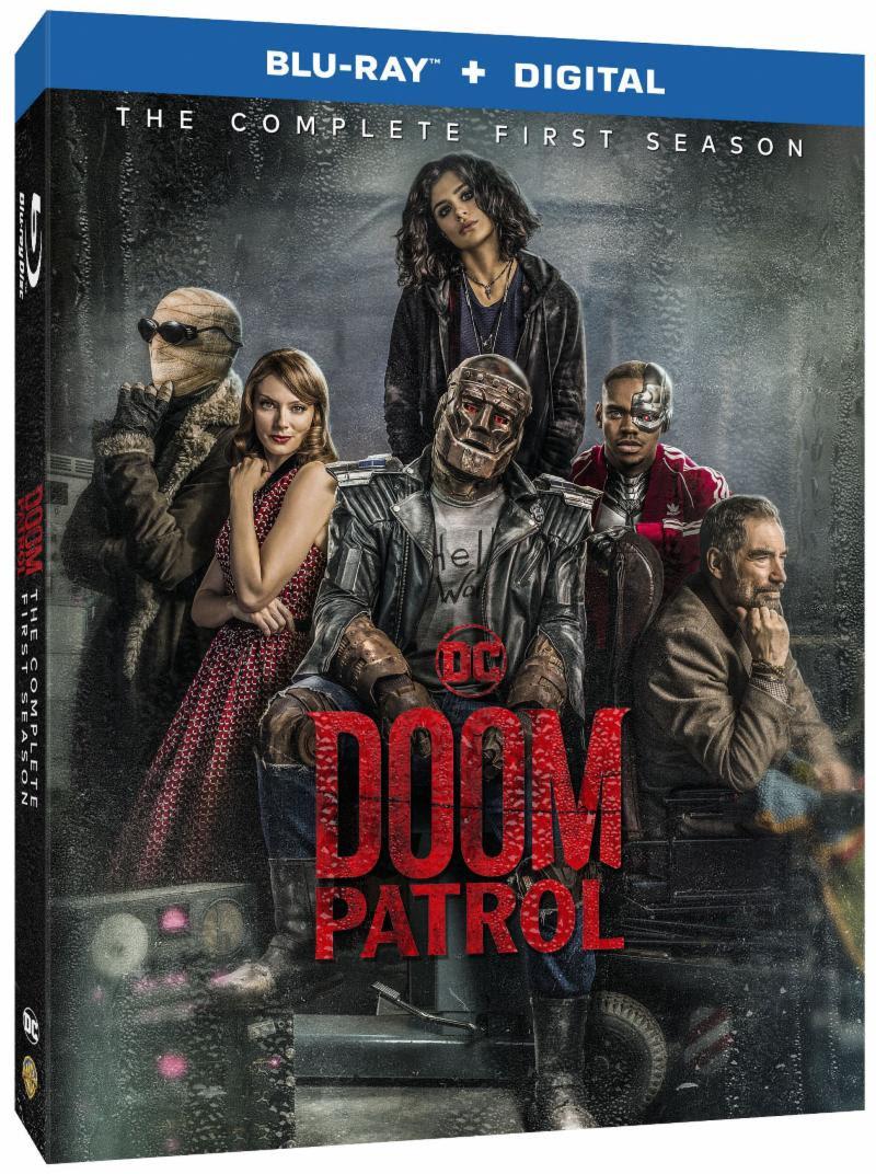 Doom Patrol the Odd Super Hero Squad