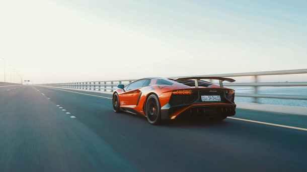 photo of car on expressway