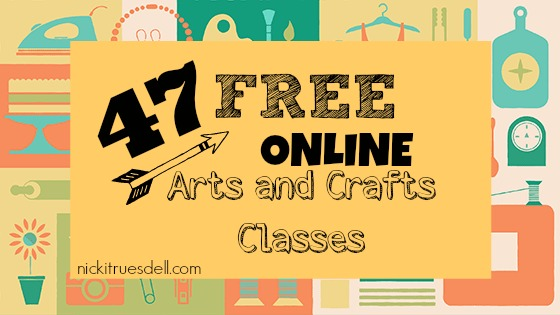 47 Free Online Arts and Crafts Classes