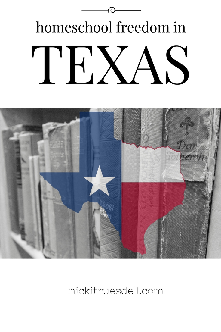 homeschool freedom in texas