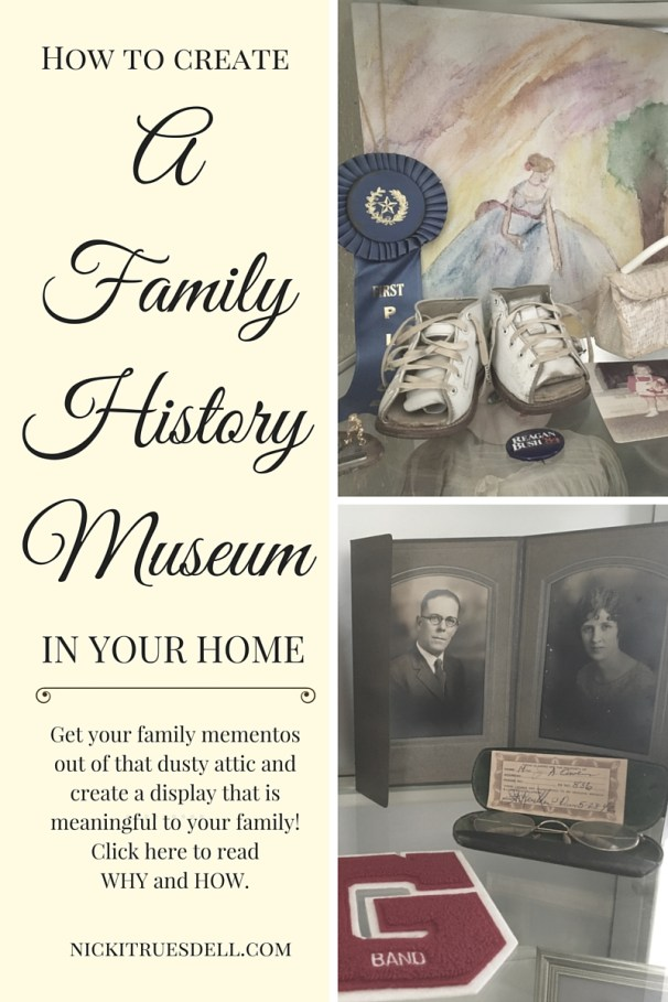 How to Create A Family History Museum in Your Home
