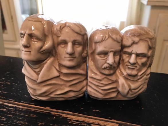 salt and pepper shaker collection mount rushmore