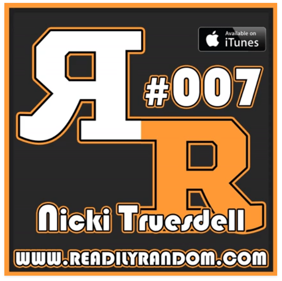 Nicki Truesdell tells how Anyone Can Homeschool on Episode 007 of the Readily Random podcast