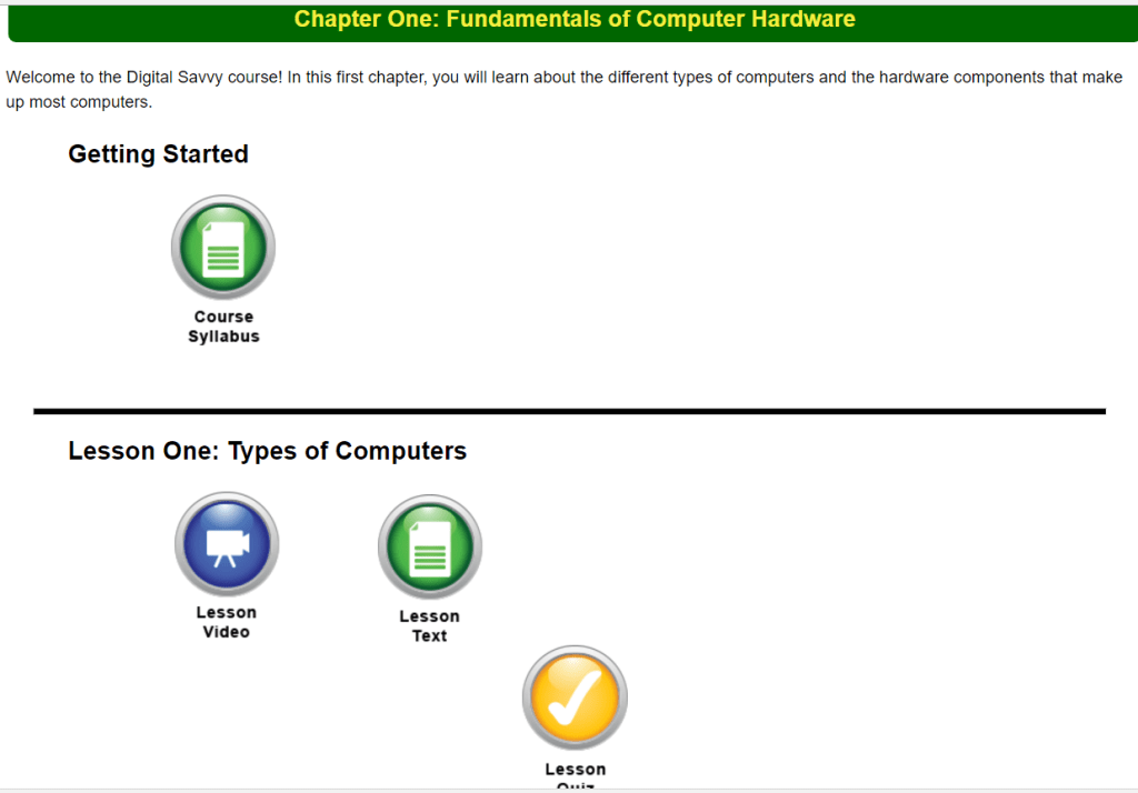 My Review of Digital Savvy by CompuScholar, Inc., formerly known as Homeschool Programming