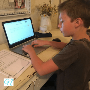 Homeschool typing curriculum by The Typing Coach.