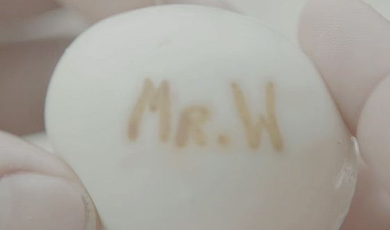 Hiding messages in boiled eggs is an old fashioned spy method