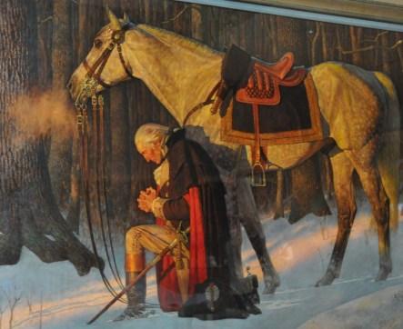 Washington's prayer American Revolution