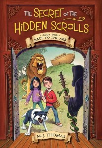 {Review} The Secret of the Hidden Scrolls series