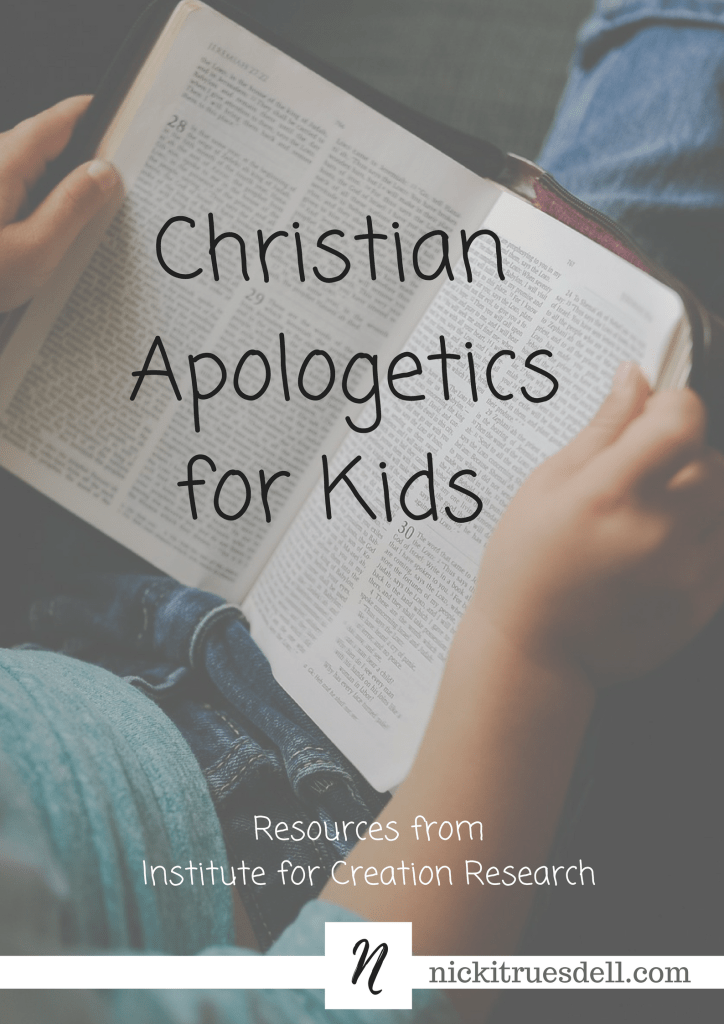How to make apologetics a regular part of your day with kids.