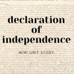 The Declaration of Independence Mini Unit Study