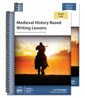 Review IEW medieval history based writing lessons
