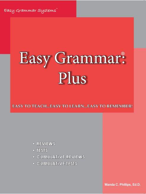 We love EEasy Grammar as part of our 2020 homeschool curriculum
