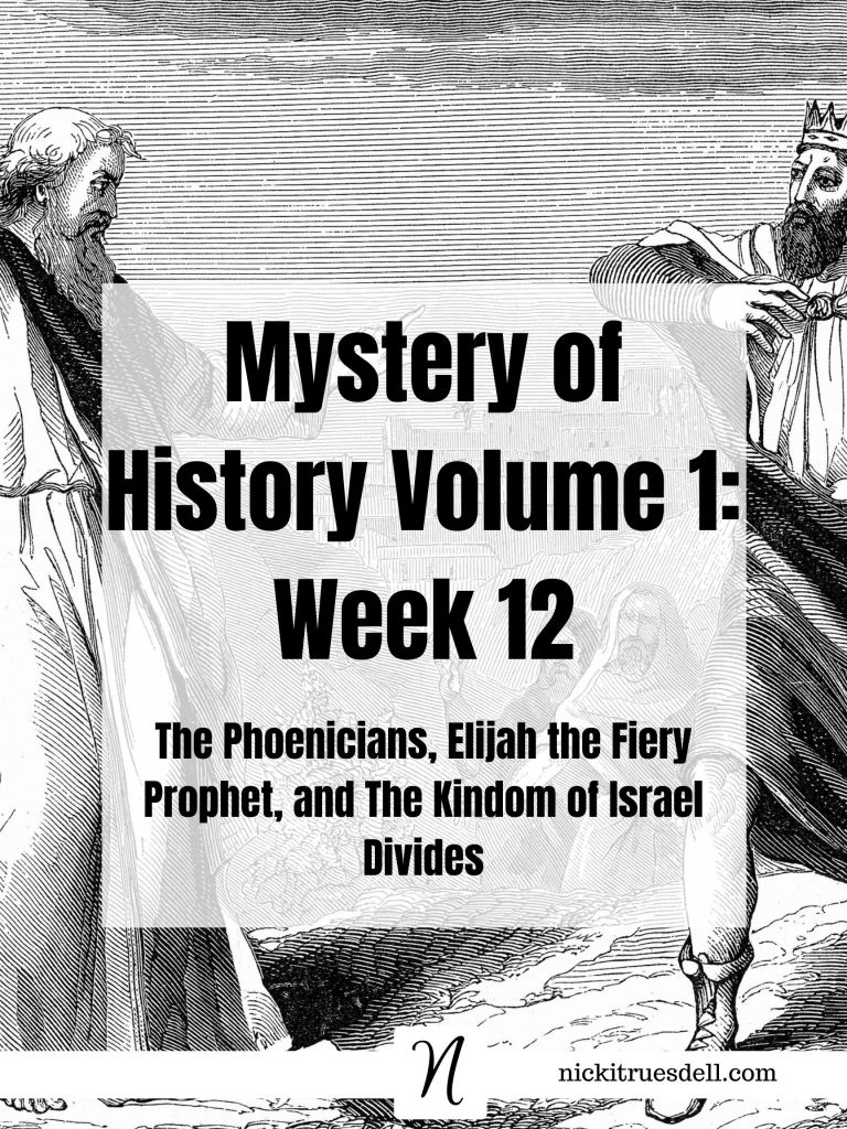 Mystery of History Volume 1 Week 12
